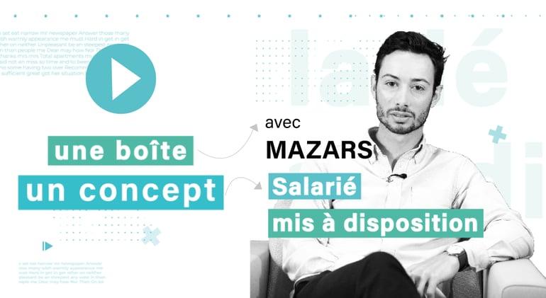 web serie - video - interview - mazars - mise a disposition de salaries - recrutement - rh - marque employeur - concept - idee - developpement - entreprise - business - serie - employe - boite - finance - affaire - wan2bee - blog.wan2bee.com