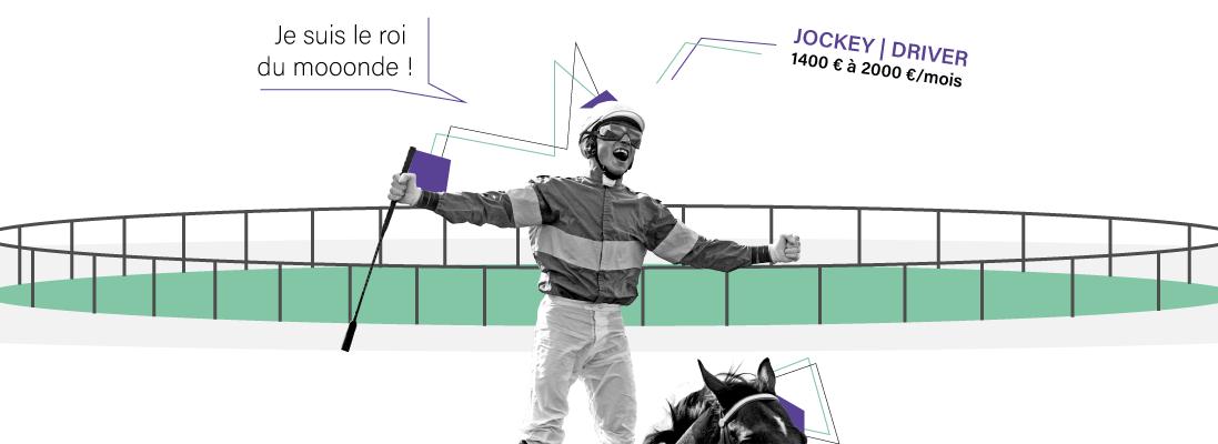 comment travailler dans le monde de equitation - jockey - driver - courses - chevaux - hippodrome