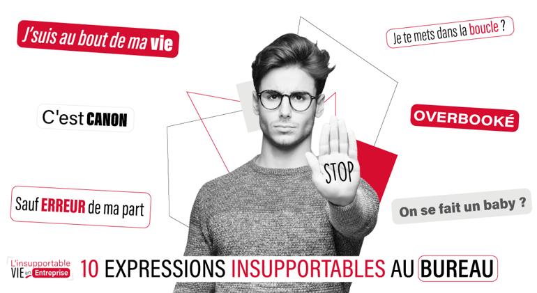10 expressions insupportables en entreprise - communication - société - collegues - humour