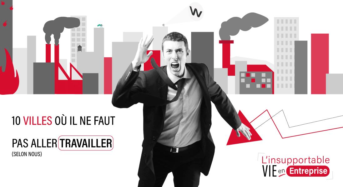 10 villes dans lesquelles ne pas travailler - cannes - paris -grenoble - luxembourg - nice - toulon