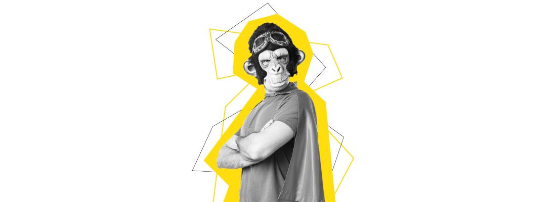 entretien-masque-singe-desscode-costume -entretien-article-conseils-businessworker- entretien embauche - recrutement - métier - rh - réussir - emploi - job - aide - article - blog - étudiant - wan2bee.com - conseil - lettre de motivation - entretien embauche - créer un cv - recrutement - candidature - recherche emploi - blog - postuler - rh