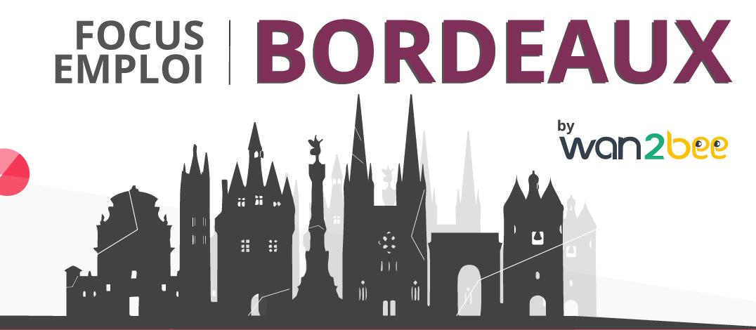 Bordeaux Métropole, c'est plus de 950 000 recrutements sur les 12 derniers mois (avril 2017 à mars 2018), soit une évolution de +16,5 % selon Frédéric Toubeau, directeur régional de Pôle emploi).     Pourquoi et comment cette métropole attire de plus en plus les français ?     Bordeaux : la 4e métropole digitale bordeaux - infographie - digital - recrutement - offre d'emploi - secteur qui recrute - entreprise qui recrute - tourisme - emplois - job - ville - région - france  - start-up - fablabs - université - salaire - économie - btp - transport - logistique - e-commerce  chu marseille - hopital - santé - soleil - graphic design - wan2bee - .blog.wan2bee - wan2bee.com Bordeaux se positionne comme une « Smart City ». 3e métropole pour la création d'entreprise, 4e métropole pour le nombre d'établissements liés au digital, elle a tout d'une cité numérique.  La ville dénombre plus de 22 000 emplois (7,8 %) pour 4 700 établissements (6,9 %) dans les domaines des jeux vidéo, de l'e-santé, de la réalité virtuelle/augmentée, de l'imagerie, du commerce connecté ou des transports intelligents.  Grâce à la création d'événements comme Cartoon Movie, de l'implantation d'acteurs digitaux tels qu'Ubisoft, Immersion pour la réalité virtuelle/3D et C-discount pour le e-commerce ; la ville se digitalise de plus en plus et ce dès les études.  Plus de 140 formations liées au Numérique sont proposées.  En y ajoutant les Fintech, l'Open Source et le Big Data en pleine croissance, Bordeaux fait partie des villes les plus connectées d'Europe.     Bordeaux : les entreprises qui recrutent le plus bordeaux - infographie - digital - recrutement - offre d'emploi - secteur qui recrute - entreprise qui recrute - tourisme - emplois - job - ville - région - france  - start-up - fablabs - université - salaire - économie - btp - transport - logistique - e-commerce  chu marseille - hopital - santé - soleil - graphic design - wan2bee - .blog.wan2bee - wan2bee.com  De par la croissance forte des leaders