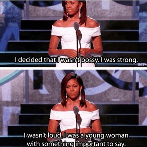 Michelle-Obama-meme-femme-entreprise-difficulte-travail-egalite-parite