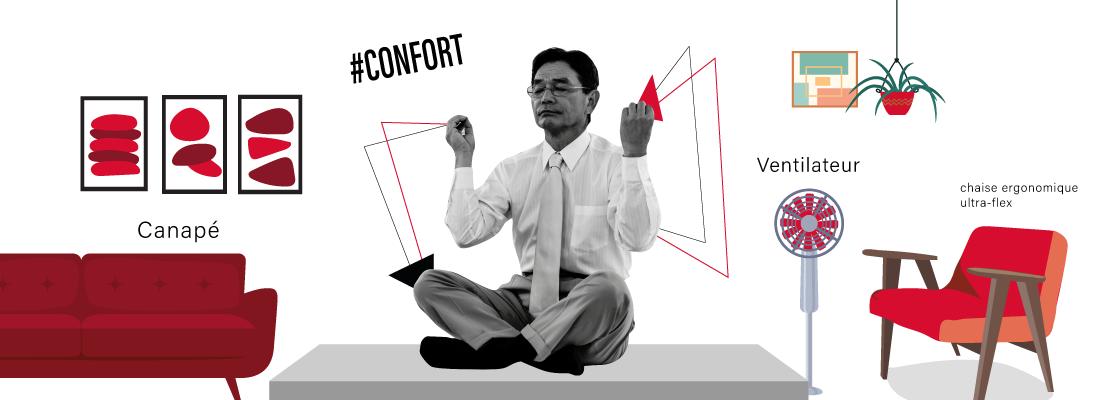 interne-confort-ergonomie-chaise-ventilateur-canape-cocon-zen-senior-age-entreprise-travail-emploi-rh-recrutement-vie-boomer